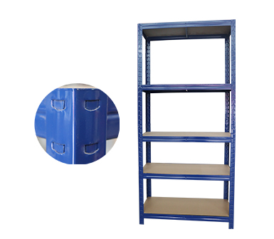 Plug-in Clamp 5 tier Storage Rack Heavy Duty Shelf Steel Shelving Unit 32*16*72 Inch-RZ-3518-5PI