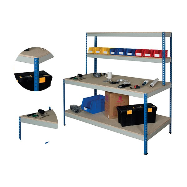 Rivet Full Under Shelf Workstation
