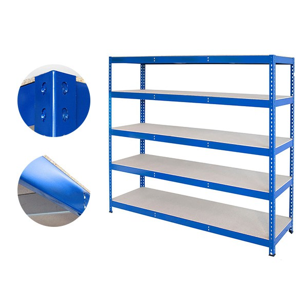 5-Tier Steel Heavy Rivet Shelving Unit