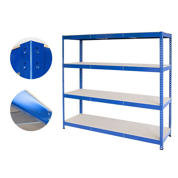 Heavy Duty Steel Rivet Boltless Shelving