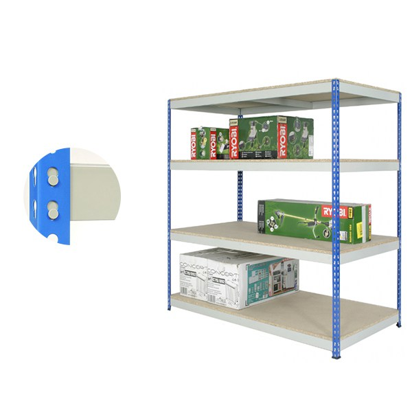 4 Tier Heavy Duty Rivet Storage Shelving