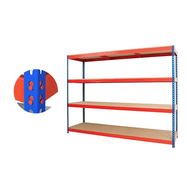 Heavy Duty Rivet Wide Span Shelving