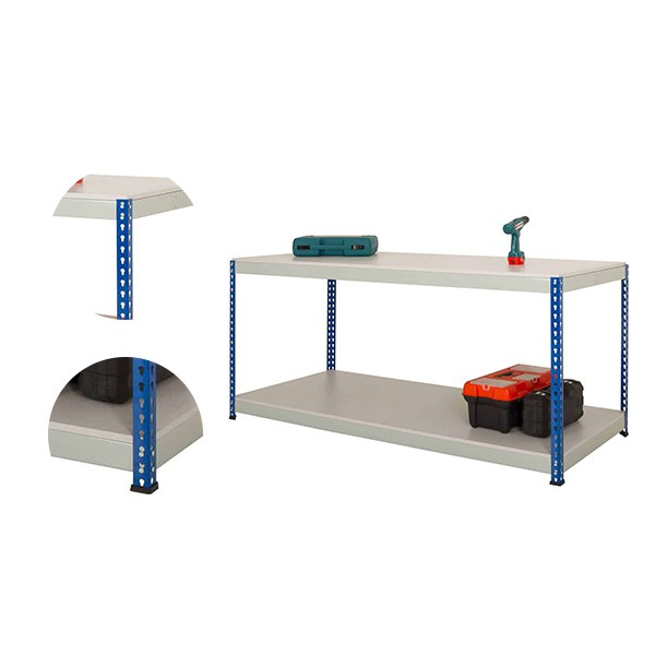 Heavy Duty Steel Workbench